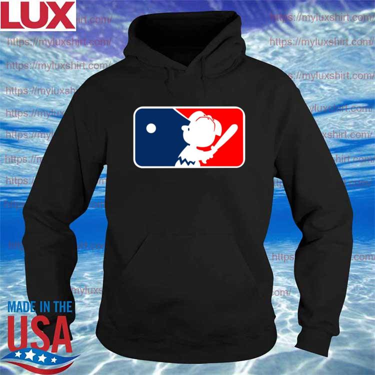 Charlie Brown Major League Baseball MLB s Hoodie