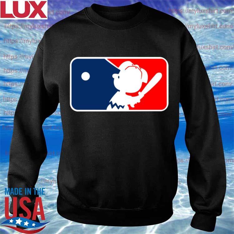 Charlie Brown Major League Baseball MLB s Sweatshirt