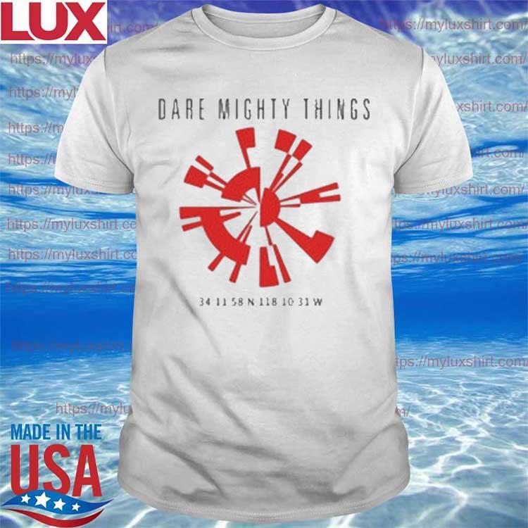 Dare Mighty Things Parachute Secret Code Shirt