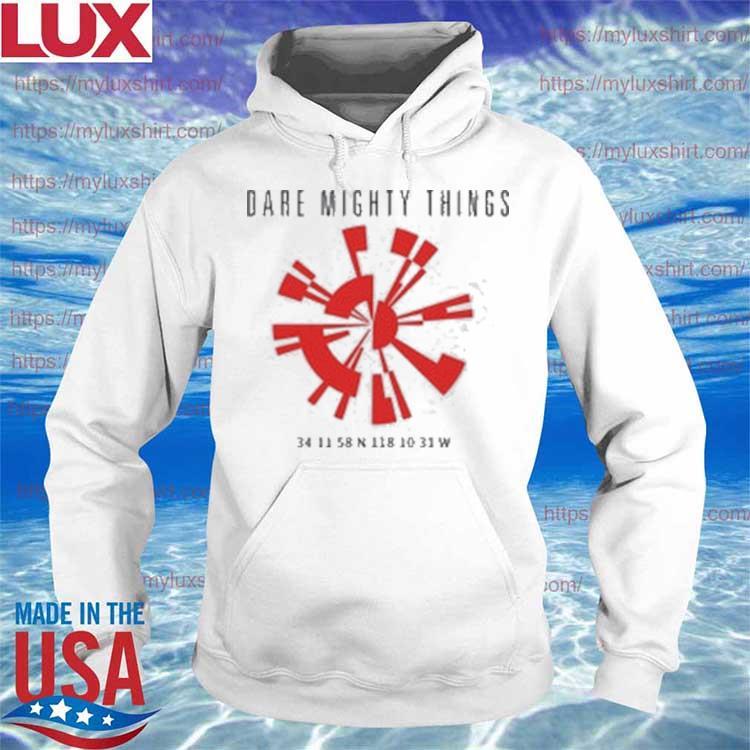 Dare Mighty Things Perseverance Parachute Shirt Hoodie