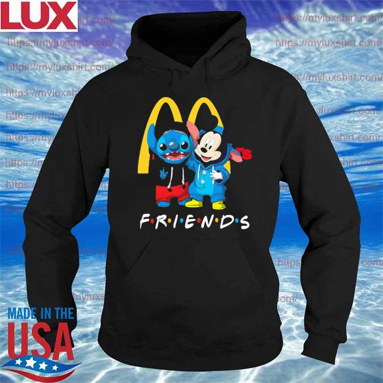 Baby Mickey Mouse and Stitch Friend MCdonalds s Hoodie