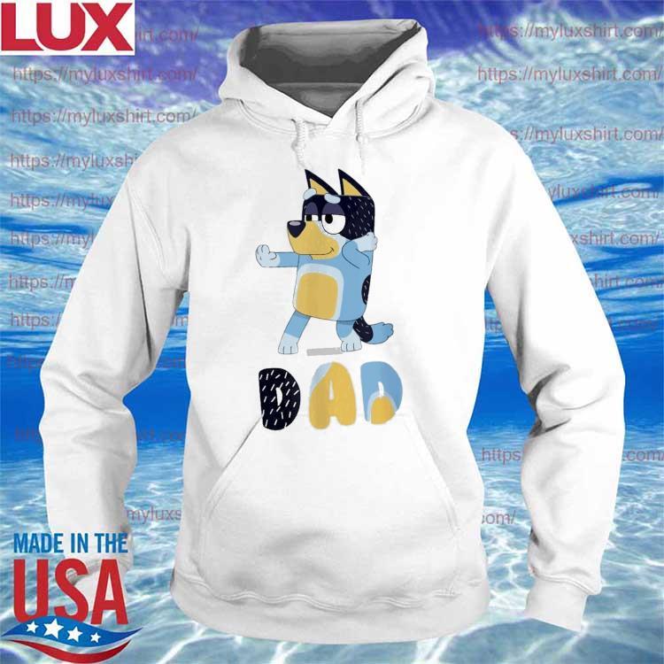 Bluey gamerdad Dad Happy Father's day s Hoodie
