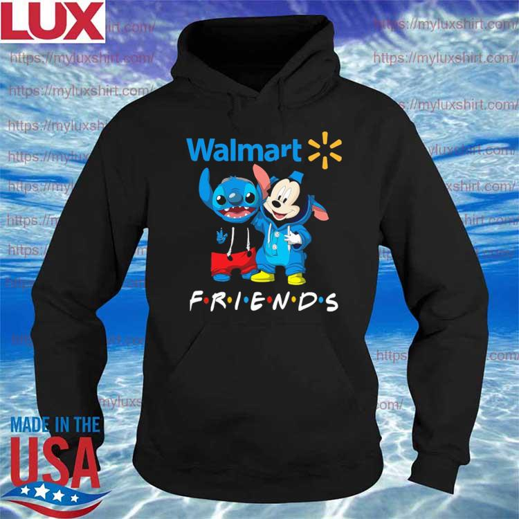 Mickey Mouse and Stitch Friend Walmart s Hoodie