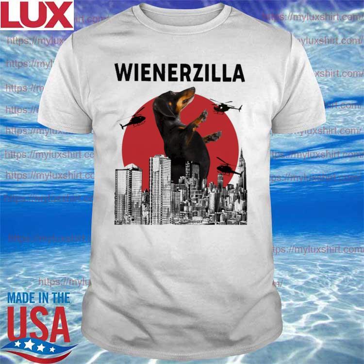 Official Dachshund Wiener Zilla Movie shirt