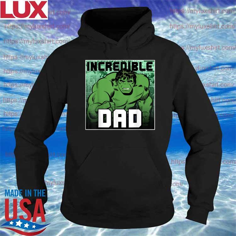 Official Marvel Hulk Father's Day Shirt Hoodie