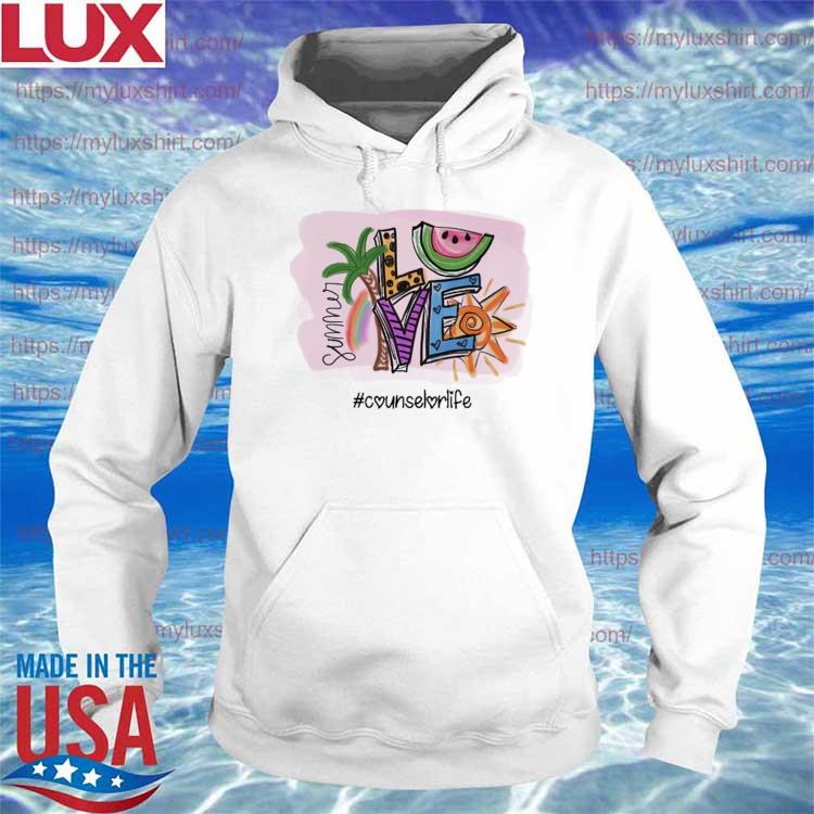Official summer love #counselor life s Hoodie