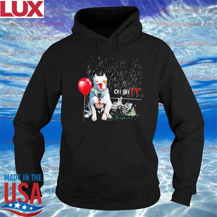 Pennywise Dog balloon Oh It Halloween 2021 s Hoodie