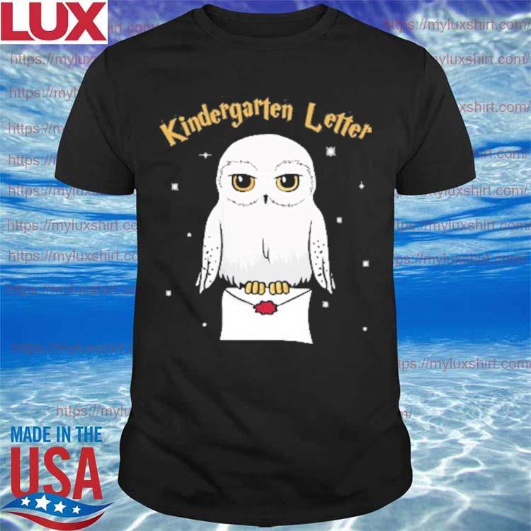 Owl Kindergarten Letter Kid's Name Back to School shirt