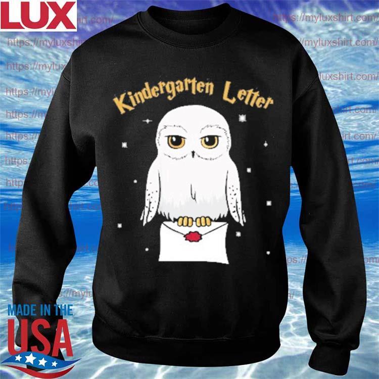 Owl Kindergarten Letter Kid's Name Back to School s Sweatshirt