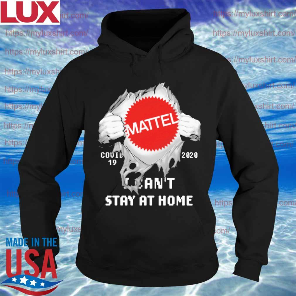 Blood inside me Mattel i can't stay at home s Hoodie