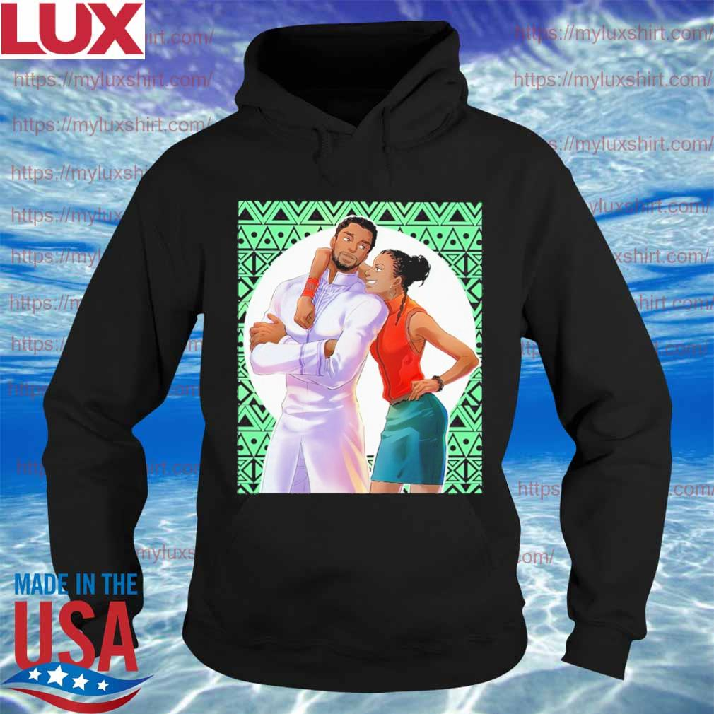 Black Panther and Shuri happy family s Hoodie