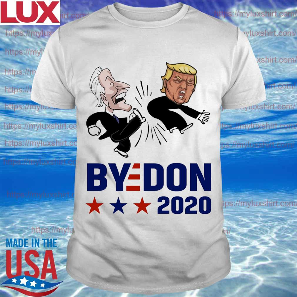 Joe Biden kicks Trump ByeDon 2020 shirt
