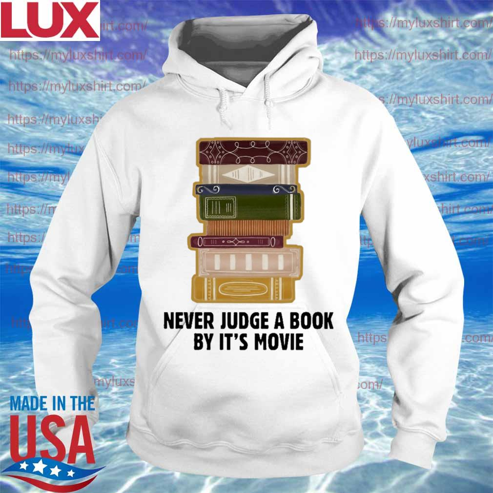 Never judge a book by it's Movie s Hoodie