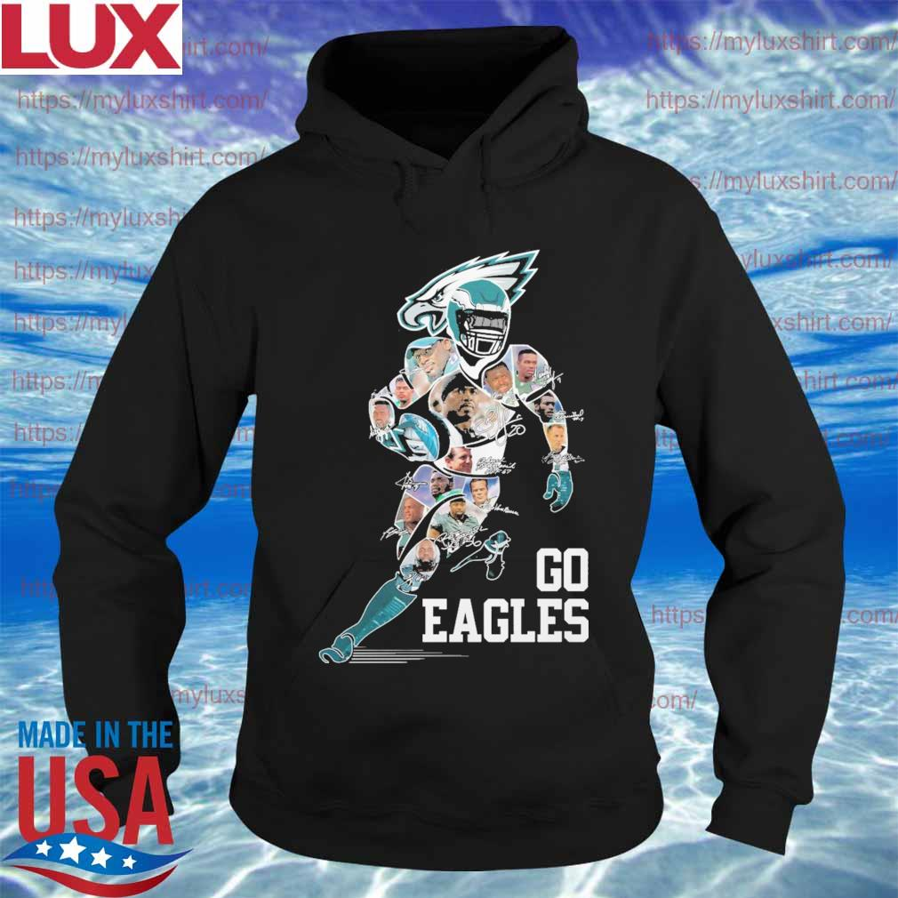 Philadelphia Eagles Members signatures s Hoodie