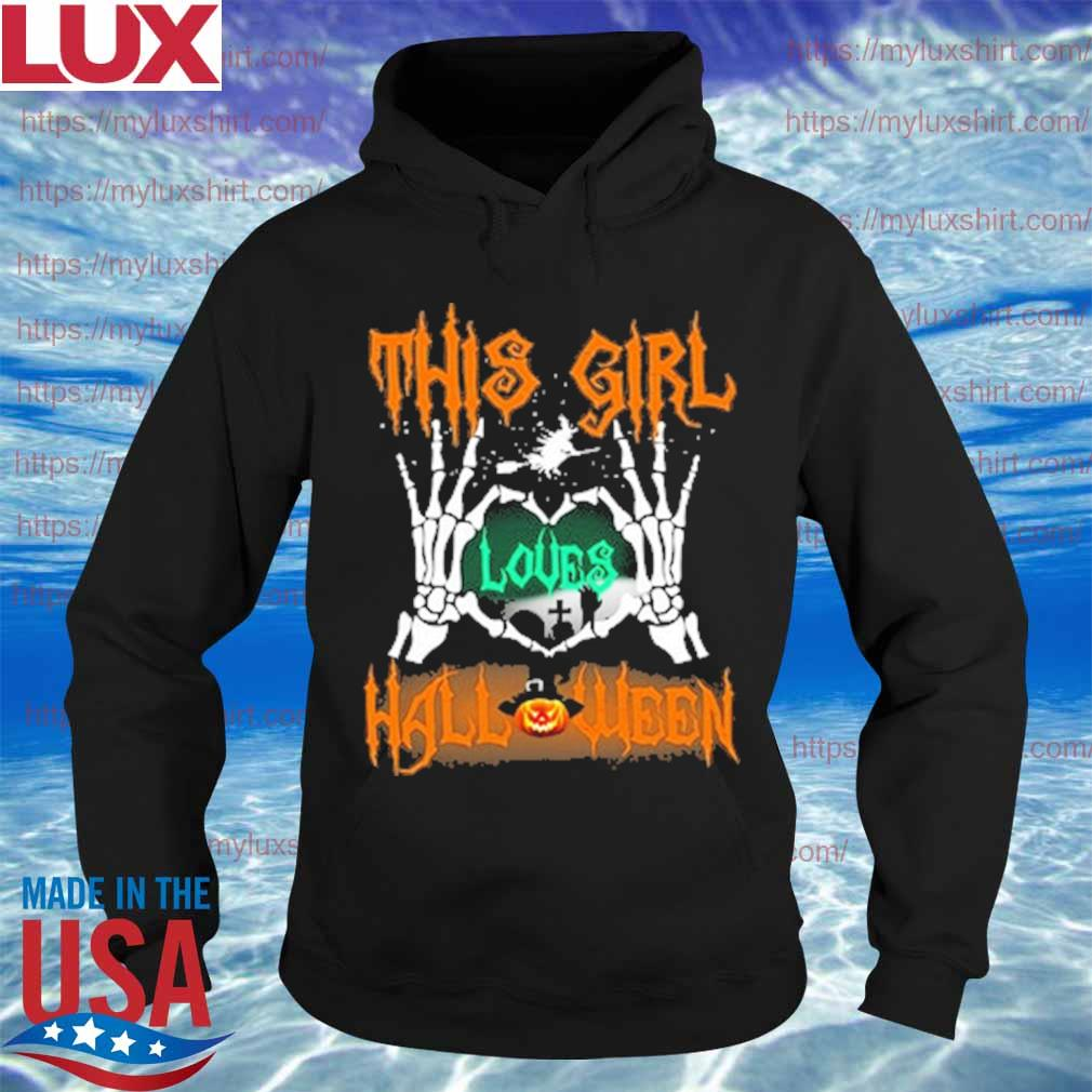 This Girl Loves Halloween s Hoodie