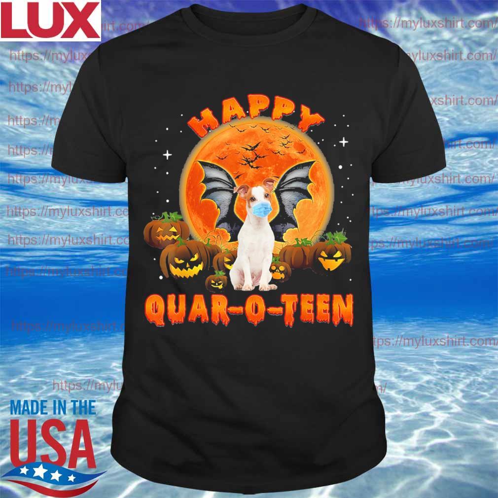 Dog Pumpkin Happy Quar-O-Teen Halloween shirt