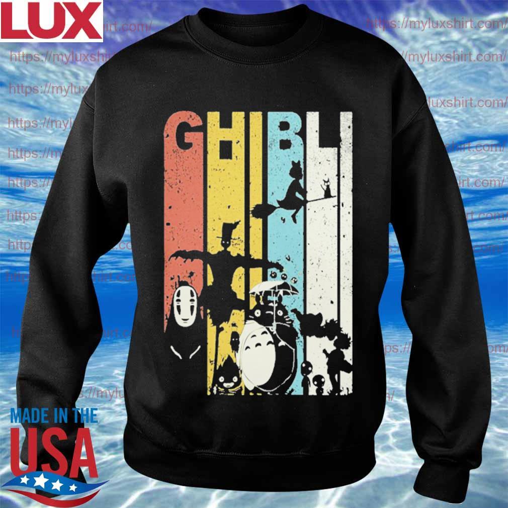 Ghibli Character vintage Halloween s Sweatshirt