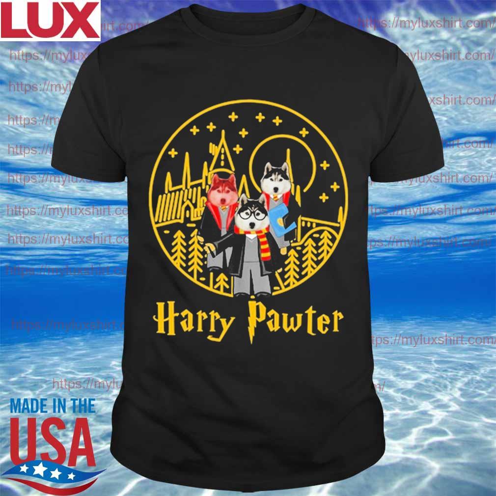 Huskies Harry Pawter Halloween shirt