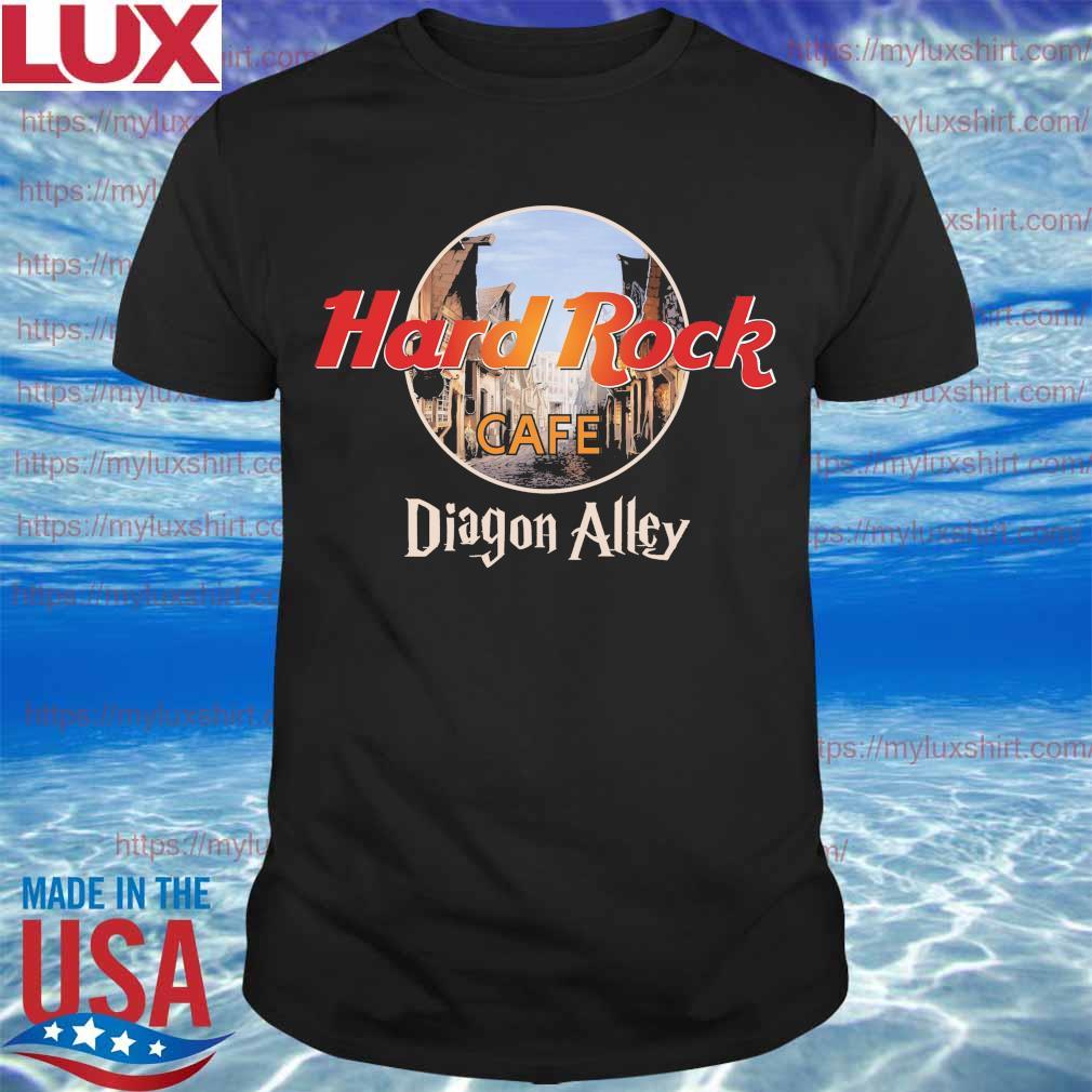 Official Hard Rock Cafe Diagon Alley shirt