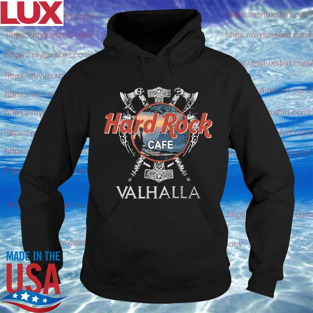 Official Hard Rock Cafe Valhalla funny s Hoodie