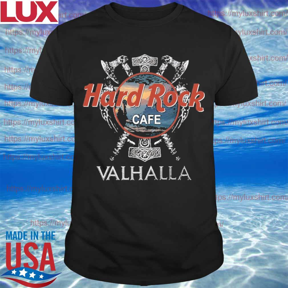 Official Hard Rock Cafe Valhalla funny shirt