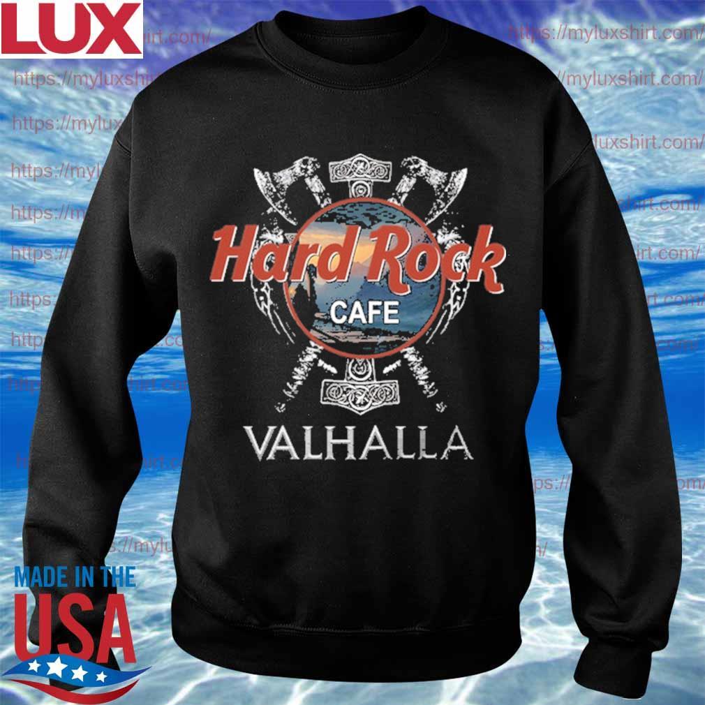 Official Hard Rock Cafe Valhalla funny s Sweatshirt