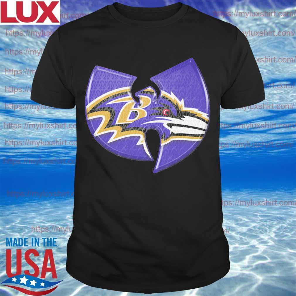 Wu tang Baltimore Ravens shirt