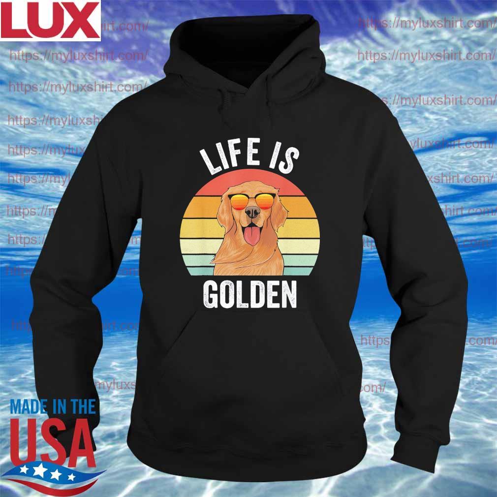 Life is Golden vintage s Hoodie