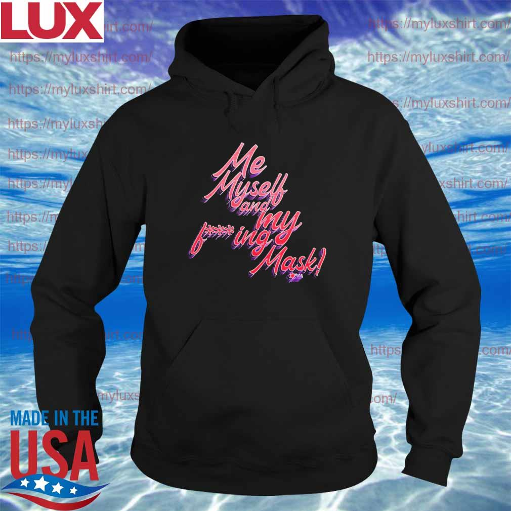 My Myself and My being Mask Red s Hoodie