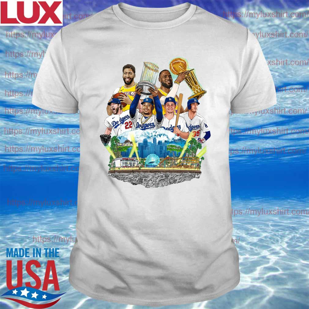 Myluxshirt - Official Los Angeles Dodgers And Los Angeles ...