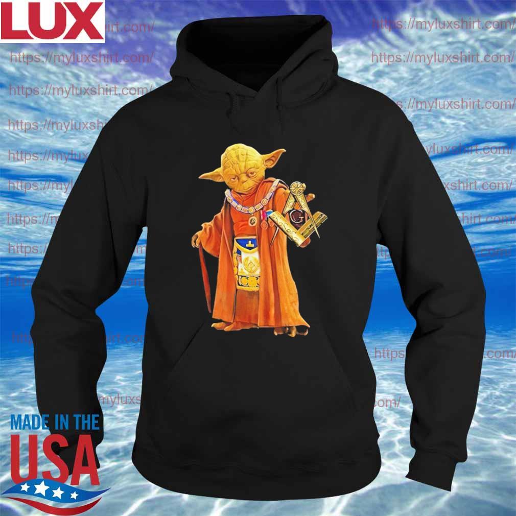 Official Master Yoda Star Wars Freemason Brother Shirt Hoodie