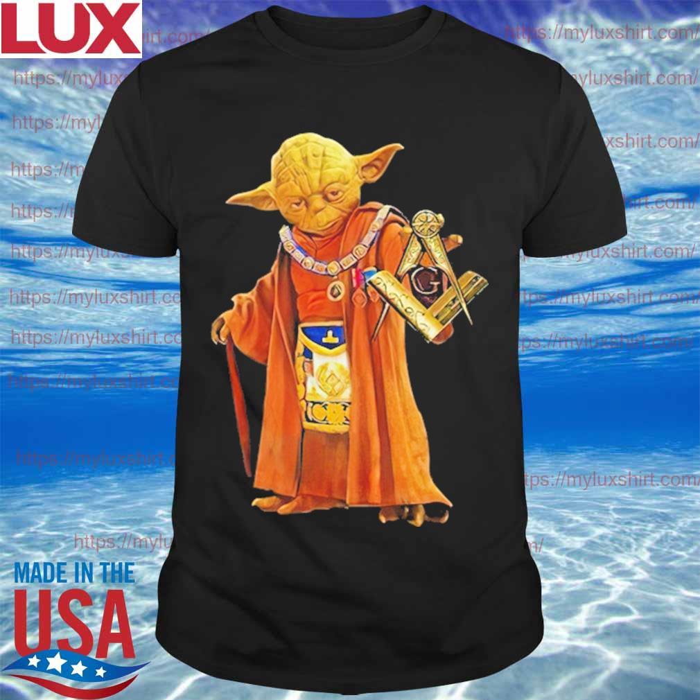 Official Master Yoda Star Wars Freemason Brother Shirt