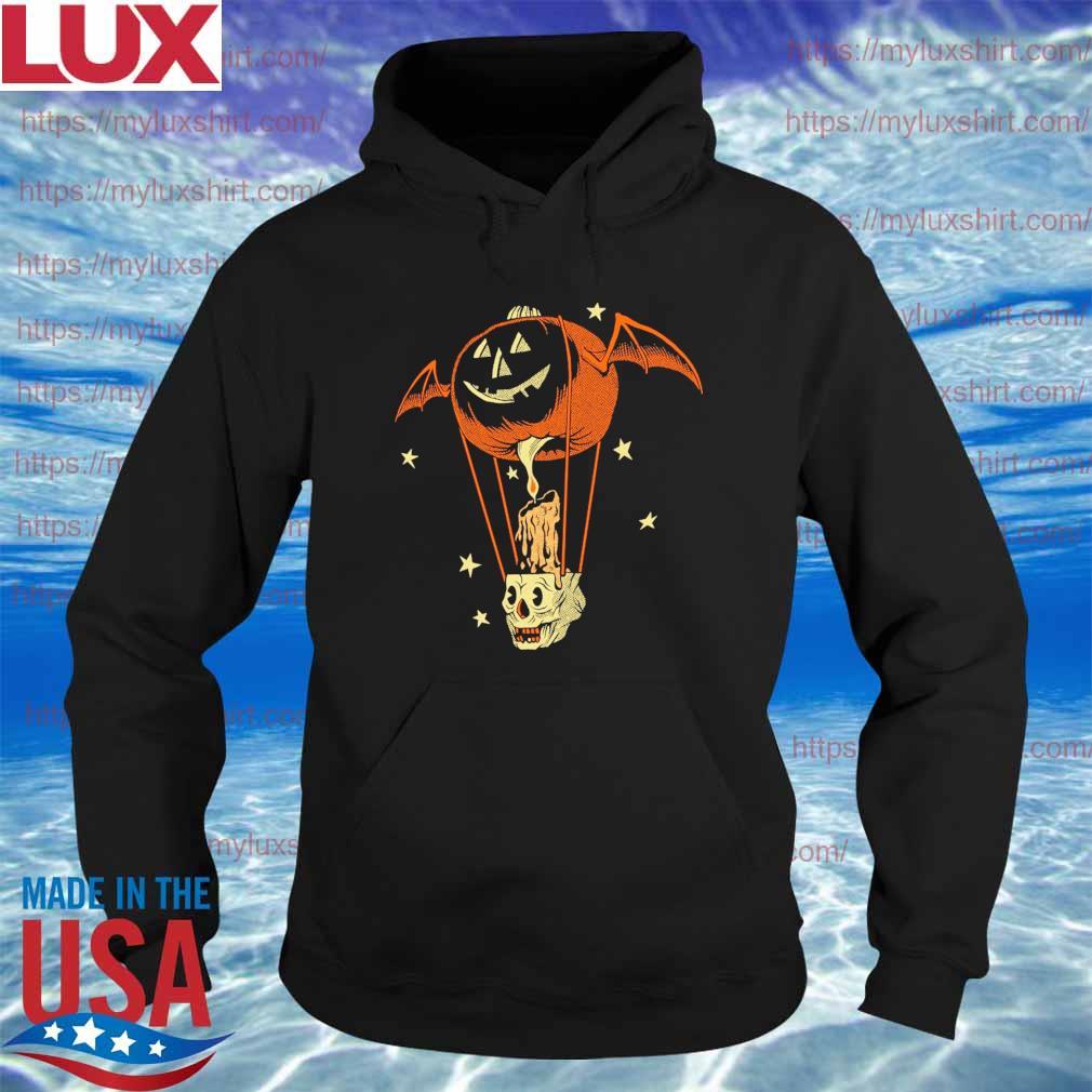 Official Pumpkin Bat Midnight Ride Shirt Hoodie