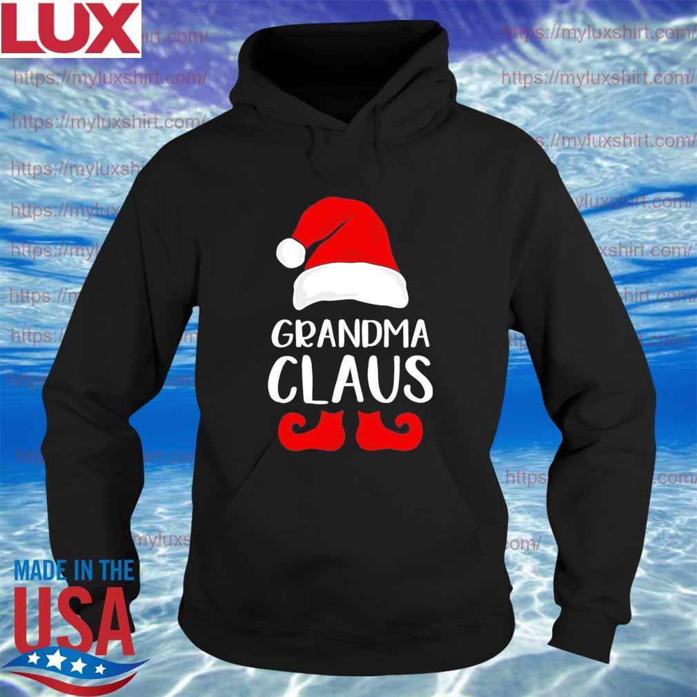Santa grandma Claus Christmas s Hoodie