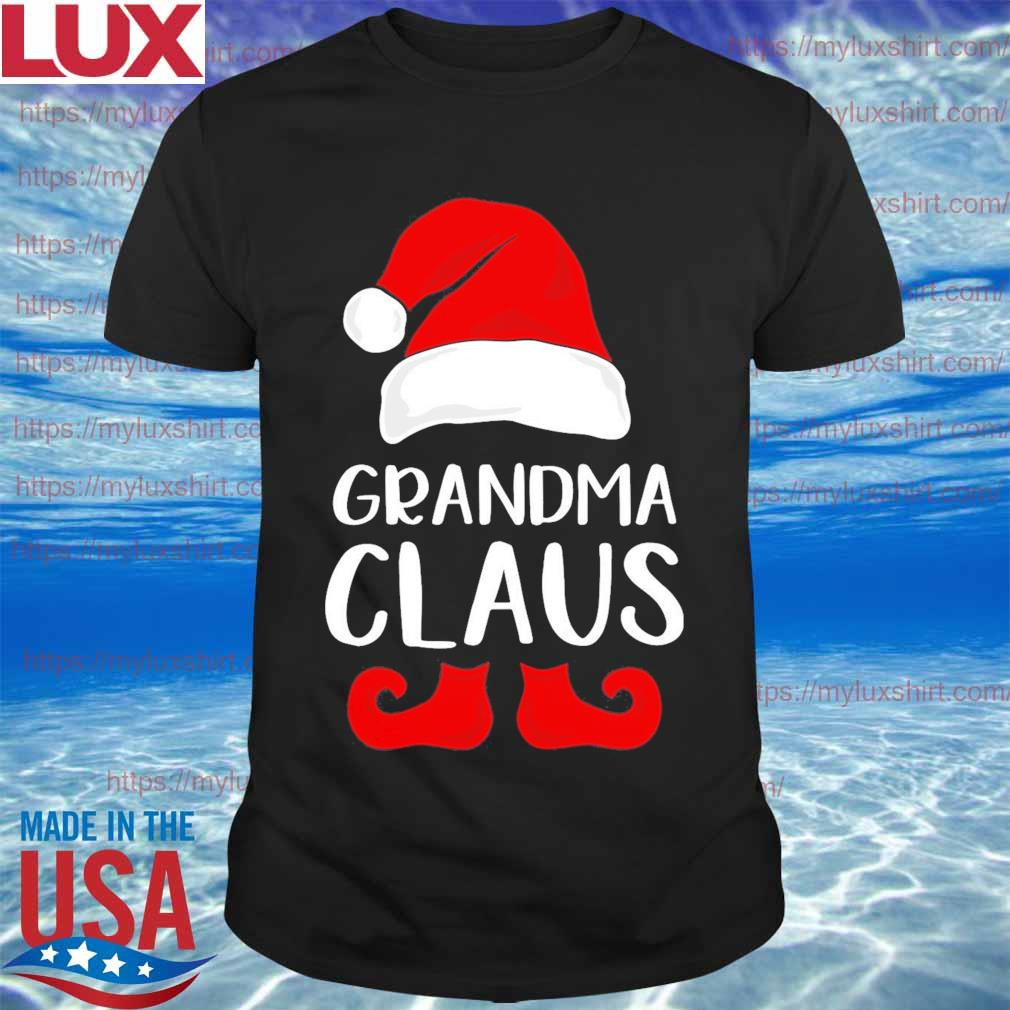 Santa grandma Claus Christmas shirt
