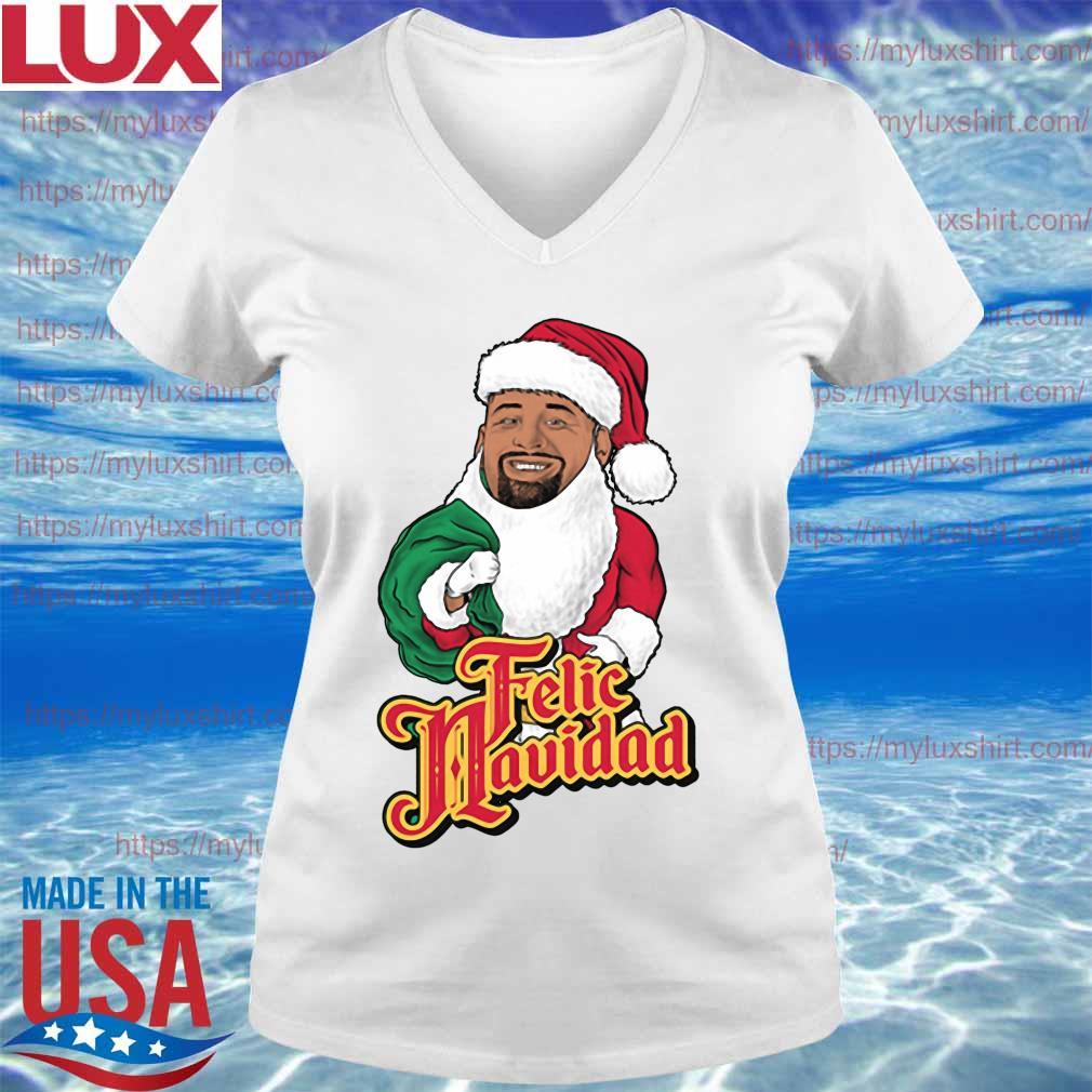 Feliz Navidad santa Merry Christmas 2020 s V-neck