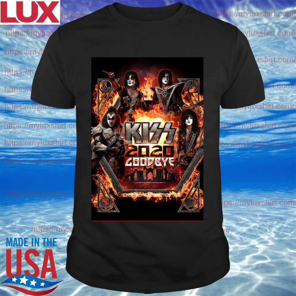 Kiss Announce 2020 goodbye Atlantis shirt