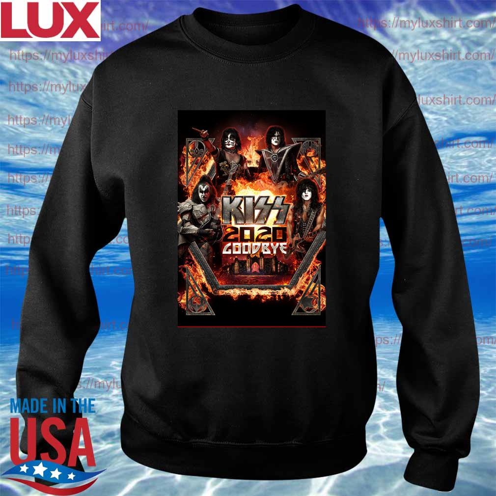 Kiss Announce 2020 goodbye Atlantis s Sweatshirt