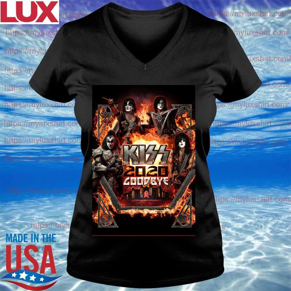 Kiss Announce 2020 goodbye Atlantis s V-neck