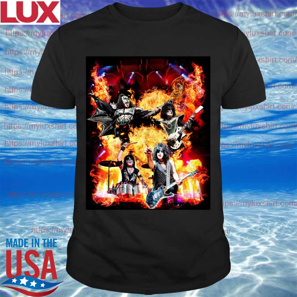 Kiss band 2020 goodbye Atlantis LandMarks Happy New Year even shirt