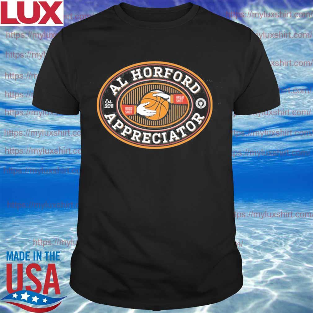 Official Al Horford Appreciator Est 2001 T-Shirt