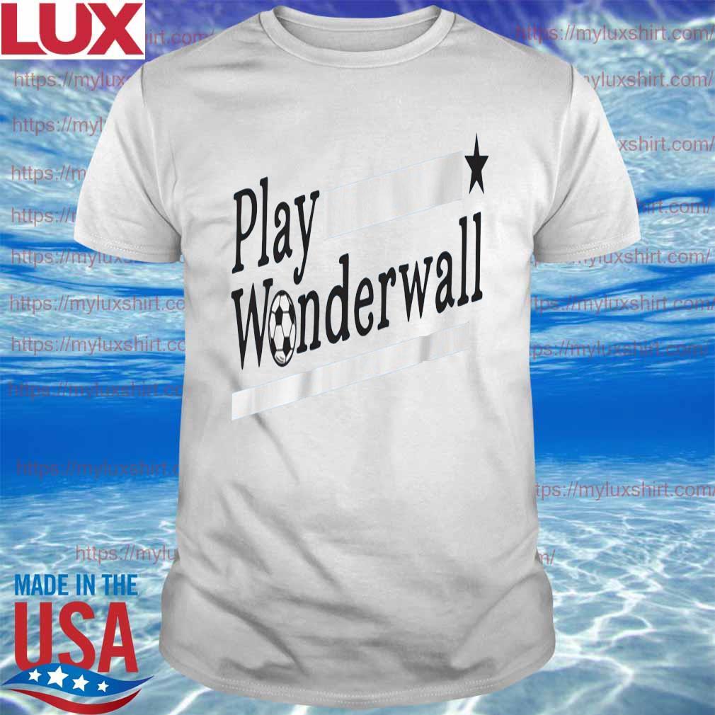 Play Wonderwall Soccer shirt