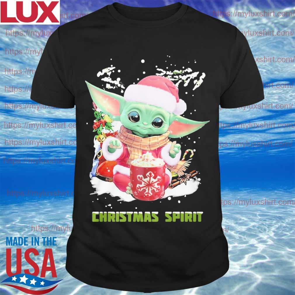 Baby Yoda Santa Christmas Spirit sweatshirt