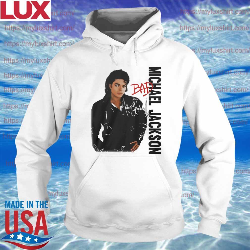 Michael Jackson Bad signature s Hoodie