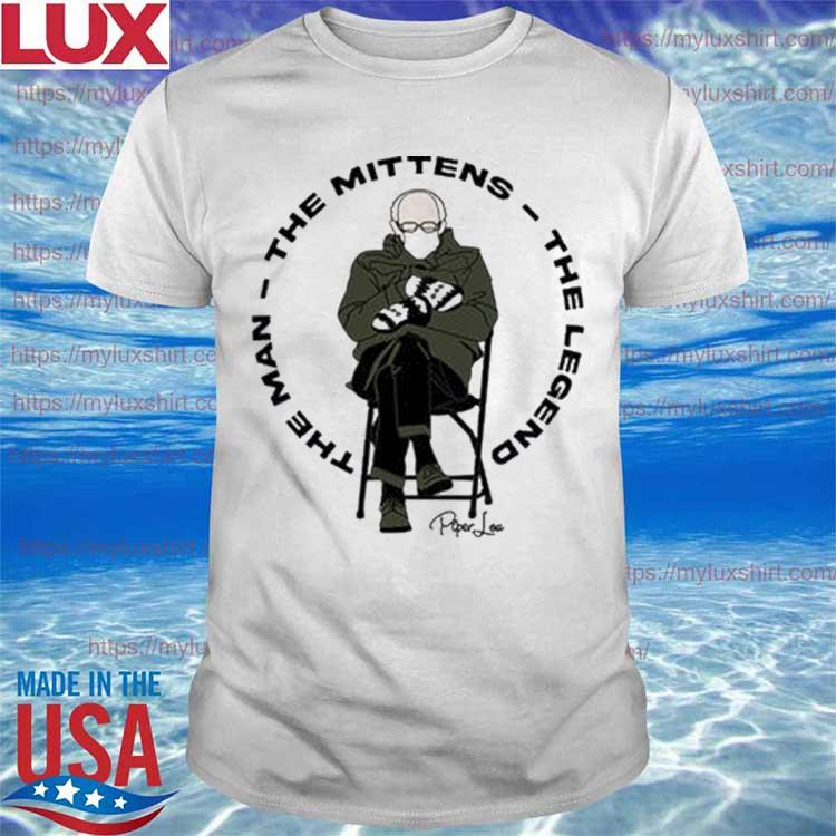 Bernie Mittens The Man The Mittens The Legend shirt